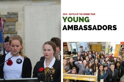 Young Ambassadors 2016 announced!