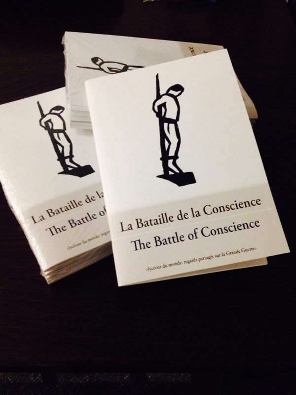"The cover of our book ""La Bataille de la Conscience"""