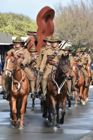 Queen Alexandra's Mounted Rifles: Mounted Riflemen