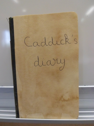 Caddick's diary_Casualty stations