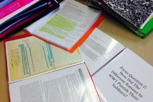 Individual Student Research Completed for the Shared Histories Project.