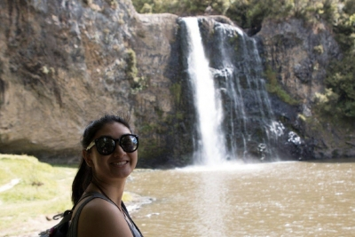 Elaine at Hunua Falls November 2017