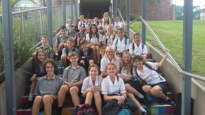 Our class at Long Bay College
