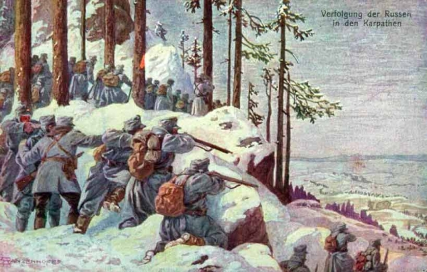 Fighting in the Carpathian mountains in hellishly cold winter temperatures with inadequate supplies is about the last place I'd like to be in the world, tragically hundreds of thousands of Austro-Hungarians had to do just that.