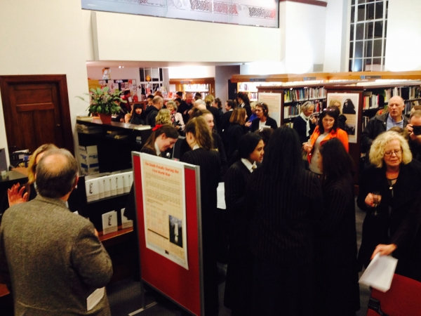 Exhibition in Auckland held by Baradene College students at Remuera Library