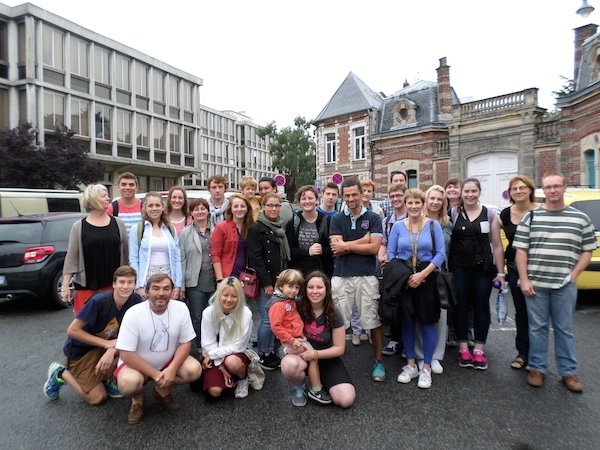 Farewell to Homestay Families in Arras