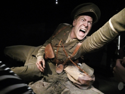 Gallipoli exhibition at Te Papa museum Wellington