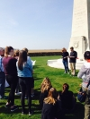 Paying our respects to New Zealand soldiers at Longueval