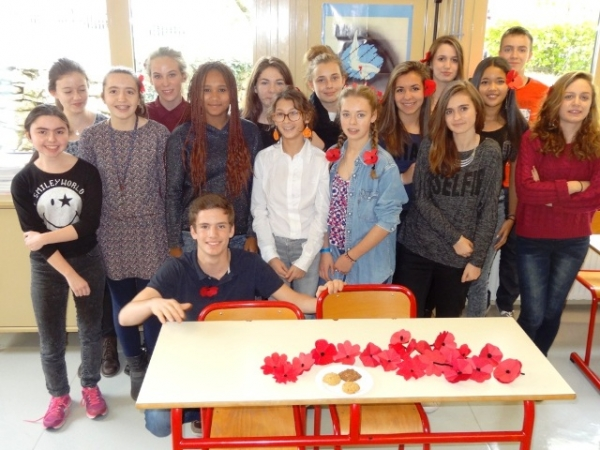 Shared Destinies : Poppies for Remembrance Day