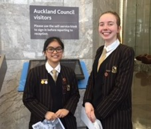 Meeting the Auckland City Council