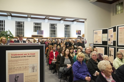 Crowd welcomes book launch and exhibition opening organised by Baradene College students