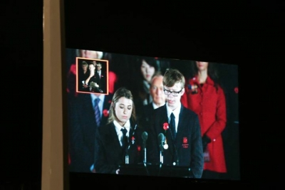 Rangitoto College at Auckland War Memorial Dawn Service - ANZAC Day 2015